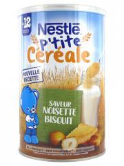 Nestlé P'tite Céréale 12 Mois et + Saveur Noisette Biscuit 400 g - Boîte 400 g