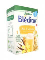 Blédina Blédine Blé & Vanille dès 6 Mois 400 g - Boîte 400 g