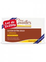 Rogé Cavaillès Savon Extra Doux l'Original 2 x 250 g - Lot 2 x 250 g