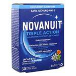 sanofi  Sanofi Novanuit Triple Action 30 Comprimés - Boîte 30 Comprimés... par LeGuide.com Publicité