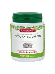 Super Diet Picolinate de Chrome 150 Gélules - Boîte 150 Gélules