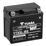 yuasa  YUASA Batterie moto YUASA YTX5L-BS YUASA Batterie moto (Ref: YTX5L-BS)... par LeGuide.com Publicité
