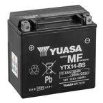 yuasa  YUASA Batterie moto YUASA YTX14-BS YUASA Batterie moto (Ref: YTX14-BS)... par LeGuide.com Publicité