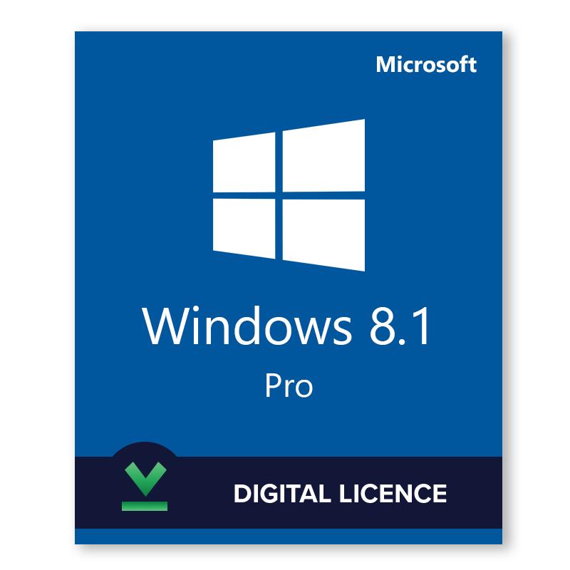 Microsoft Windows 8.1 Professionnel 32 bit / 64 bit en téléchargement