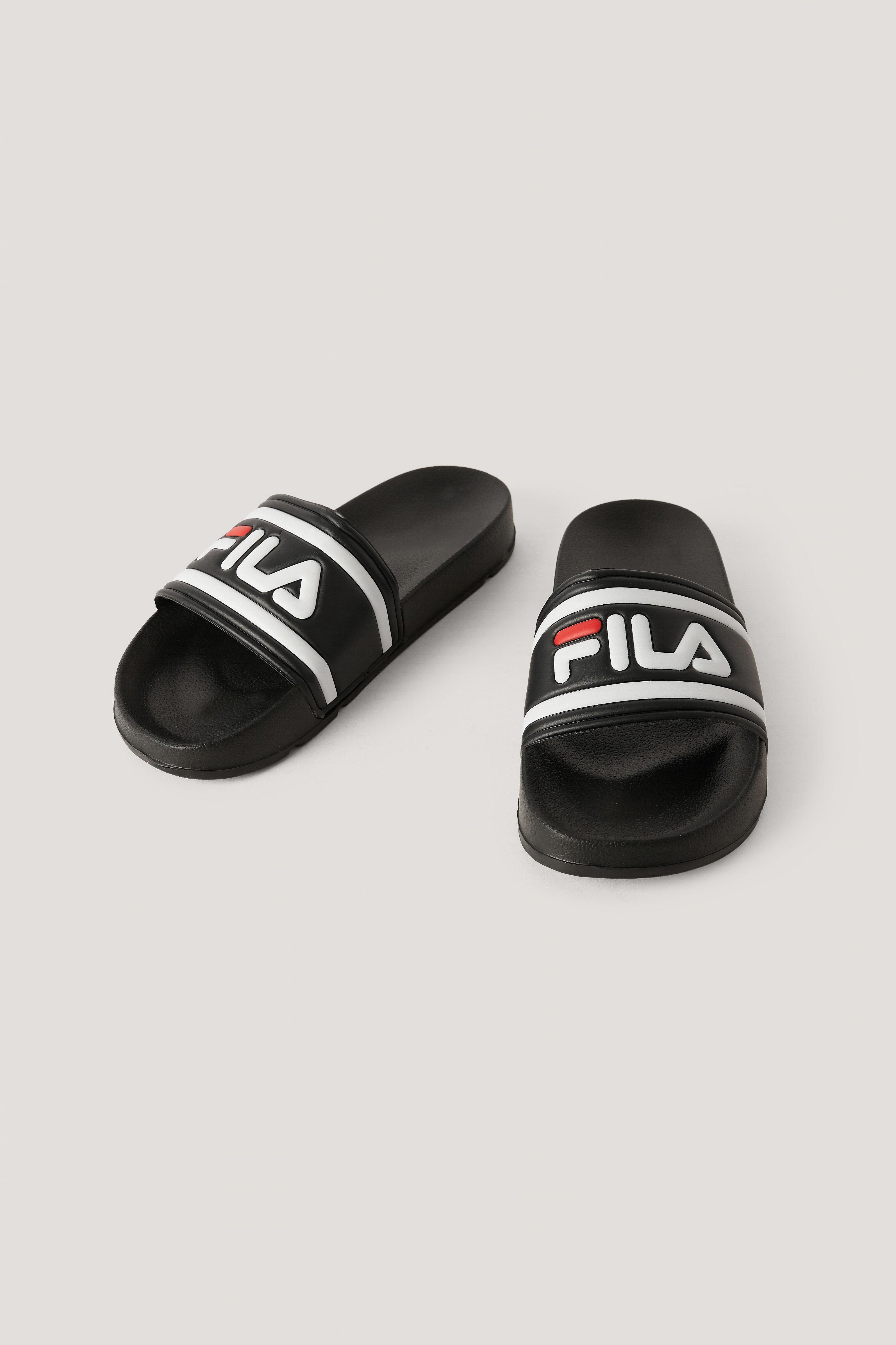 FILA Pantoufle - Black