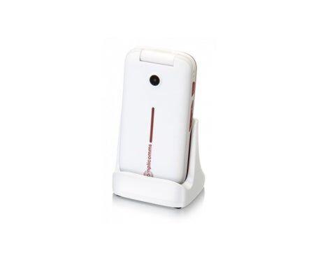 Amplicomms téléphone mobile Power Tel M7000i argenté