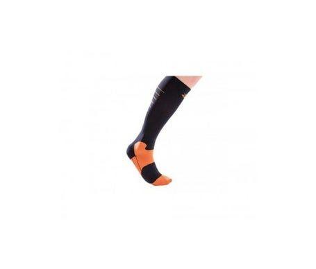 ORLIMAN Chaussettes de sport à compression Orliman Ovo2d500 Noir-Orange