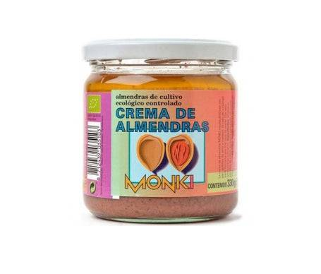 Monki Crema Almendras Bio 330g *