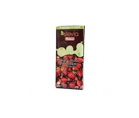 Torras Chocolat Nego Fruits de la Forêt Stevia Nego