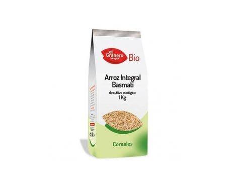 EL GRANERO Granero Alimentacion Riz brun Basmati Bio 1 Kg