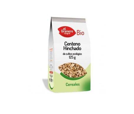 EL GRANERO Granary Food Rye Rye Gonflé Bio 125g