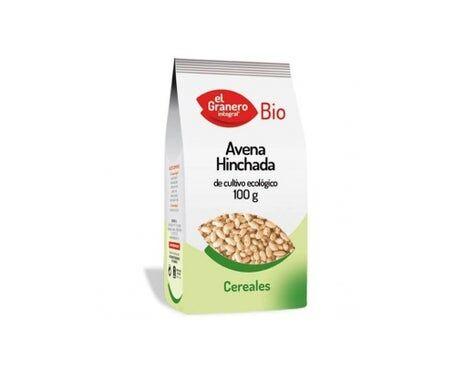 EL GRANERO Granero Nourriture d'avoine gonflée Bio 100g