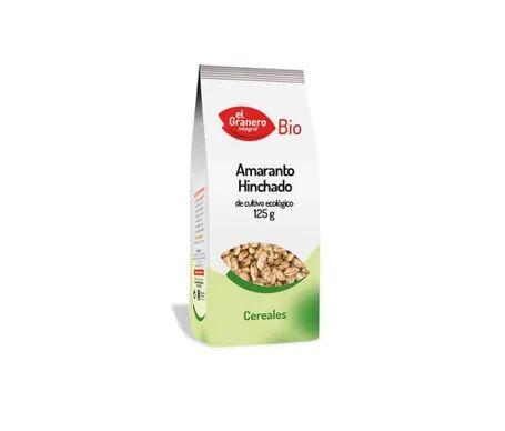 EL GRANERO Granary Food Amaranthe Gonflé Bio 125g