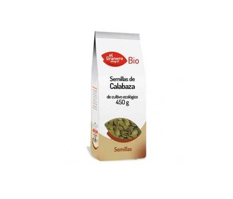 EL GRANERO Granero graines de citrouille Bio 450g
