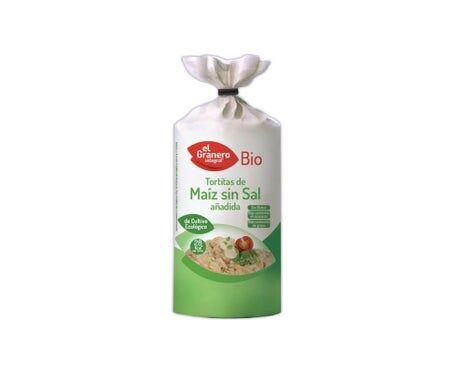 EL GRANERO Granero Alimentacion Tortitas Maiz S/salt Bio 110g
