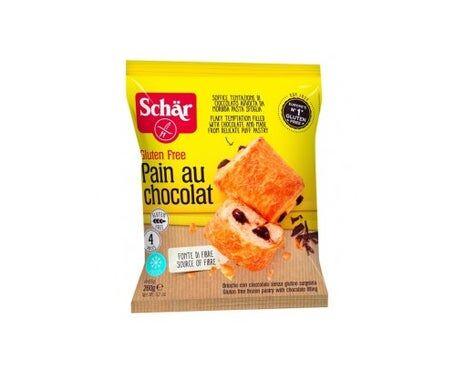 Schar Pain Au Chocolat 4X65G