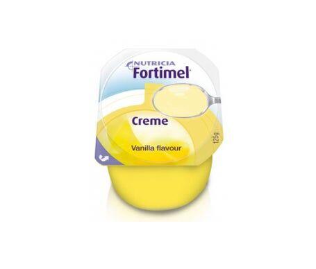Nutricia Fortimel Crèmes à la vanille 4X125G
