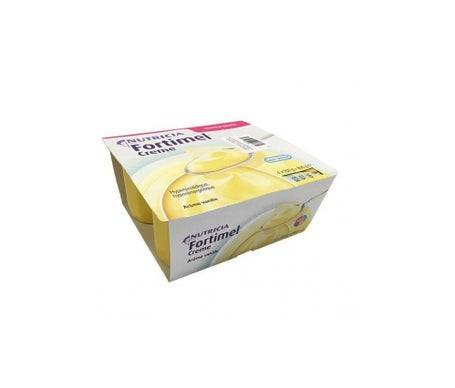 Fortimel Nutricia Fortimel Crème Arôme Vanille 200g lot de 4