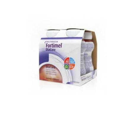 Nutricia Fortimel Diacare Chocolat Bouteille 200ml lot de 4