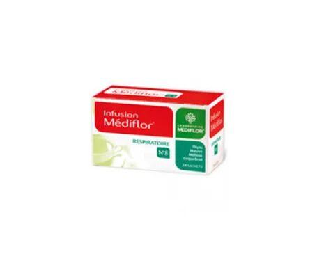 MERCK Médiflor Infusion Respiratoire N°8 24 Sachets