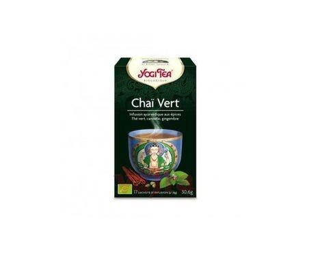 Yogi Tea Infusion Bio Chaï Vert 17 sachets 30,6g