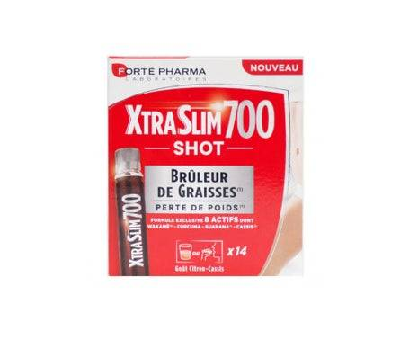 Forte Pharma Xtra Slim 700 Shot X14