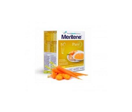 Meritene Purée de poulet Meritene avec pommes de terre et carottes 6 sachets
