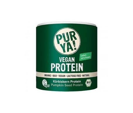 Purya protéines végétales 100% bio citrouille 250g