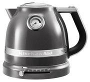 KitchenAid Bouilloire électrique Artisan 1,5 L / Température réglable - KitchenAid gris étain en métal