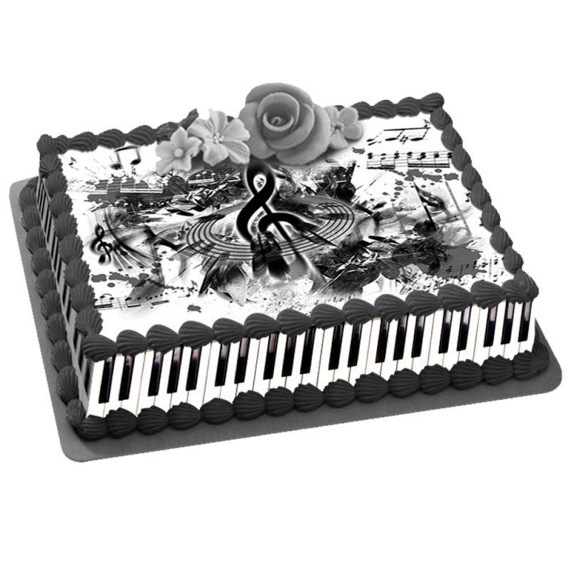 Thema Deco Kit Easycake musique A4