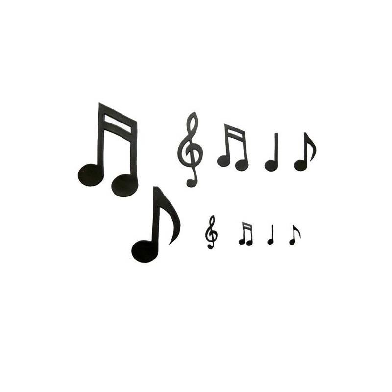 Emporte pièce Patchwork Notes de musique