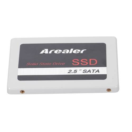 Arealer 2.5inch Solid State Drive SATA3.0 SSD Solid State stockage haute vitesse pour ordinateur portable de bureau blanc 2 To