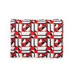 kartell  Kartell - Coussin La Double J, 48 x 35 cm, blanc / rouge (geometrico... par LeGuide.com Publicité