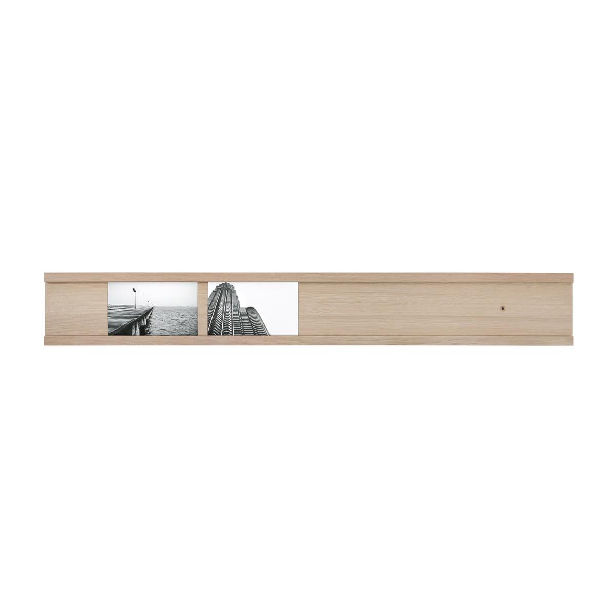 Connox collection - Galerie photo quotidienne bar photo 90 cm, chêne/transversal