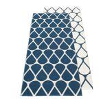 pappelina  Pappelina - Tapis réversible otis, 70 x 140 cm, bleu océan /... par LeGuide.com Publicité