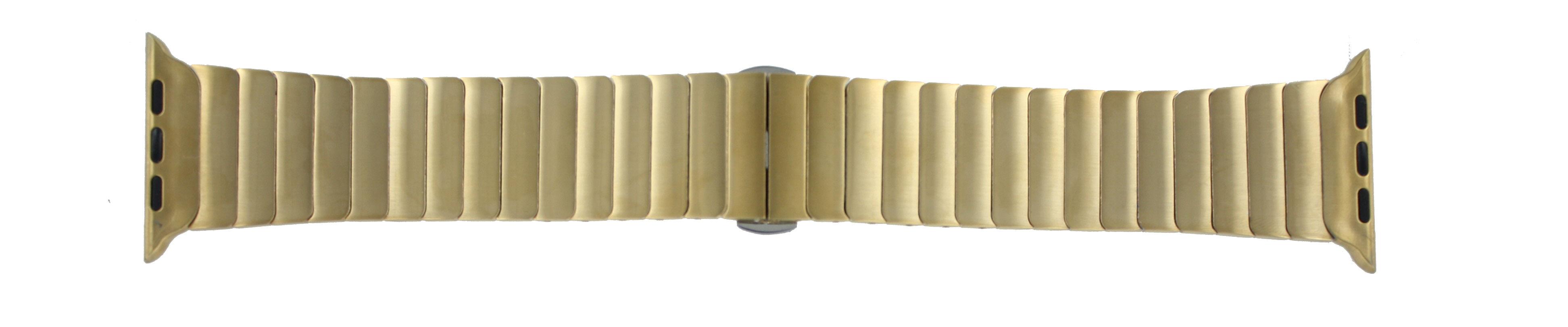 Apple (modèle de remplacement) bracelet de montre LS-AB-107 Métal Or (dorée) 42mm