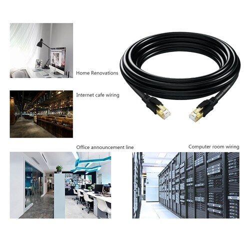 other Câble réseau de réseau informatique pour ordinateur portable en cuivre pur de haute qualité 2000MHz 40Gbps de la stabilité de la transmission CAT8
