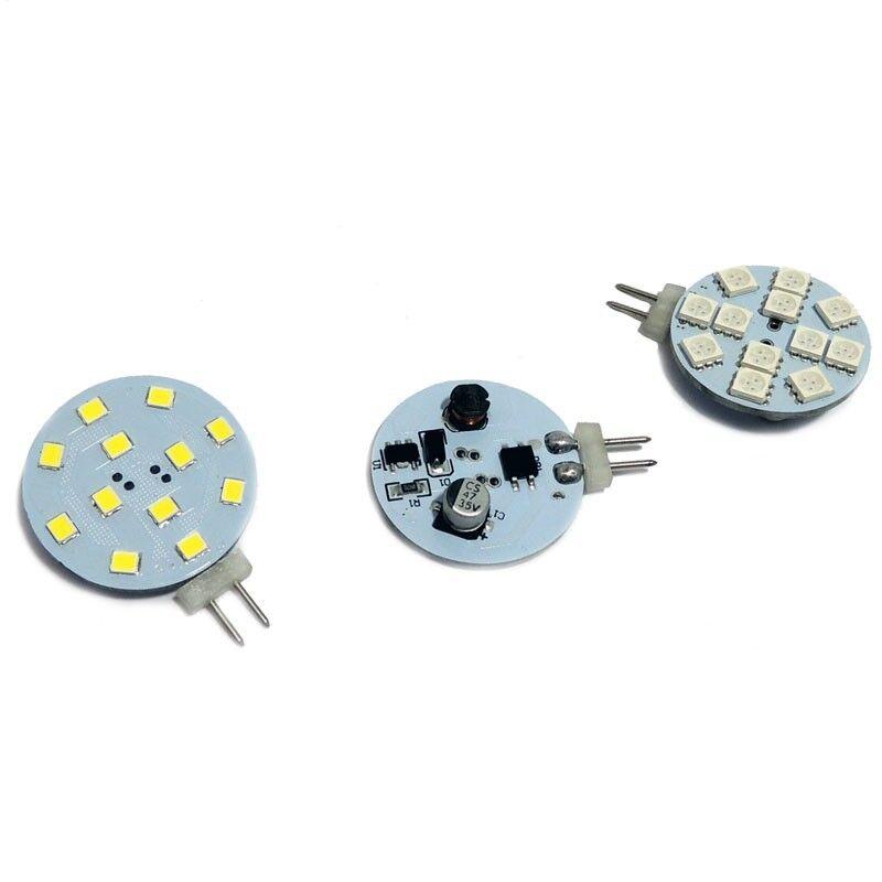 Barcelona LED Ampoule LED G4 2,3W 12V plate Blanc Chaud - Ampoules LED G4