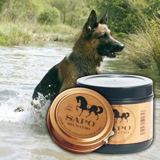 Sapo Baume multi-cuirs pour sellerie animale boite 100 ml