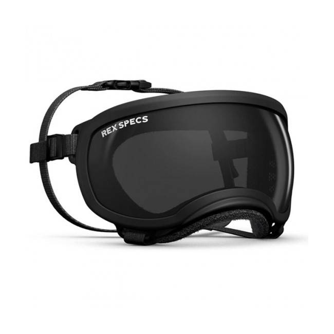 Rex-Specs K9 Masque Rex-Specs Small Noir lentilles claire et fumée