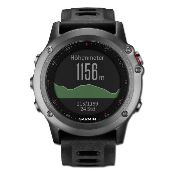 Garmin Montre GPS Garmin Fenix 3 Outdoor gris
