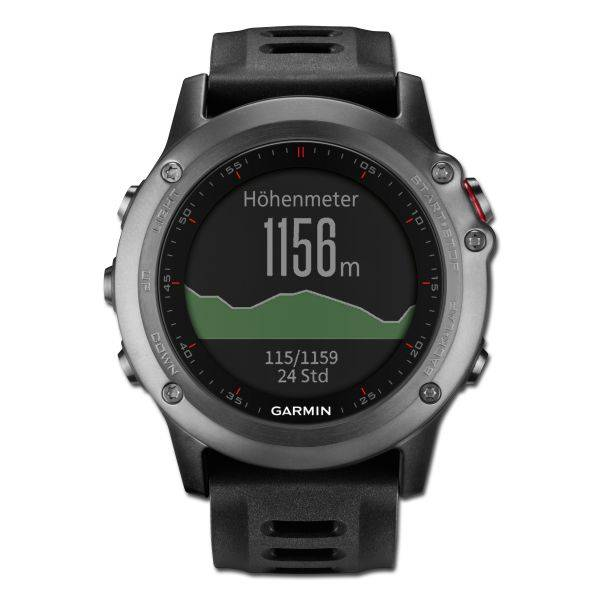 Garmin Montre GPS Garmin Fenix 3 Outdoor gris