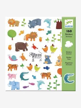 DJECO 160 stickers animaux DJECO multicolore