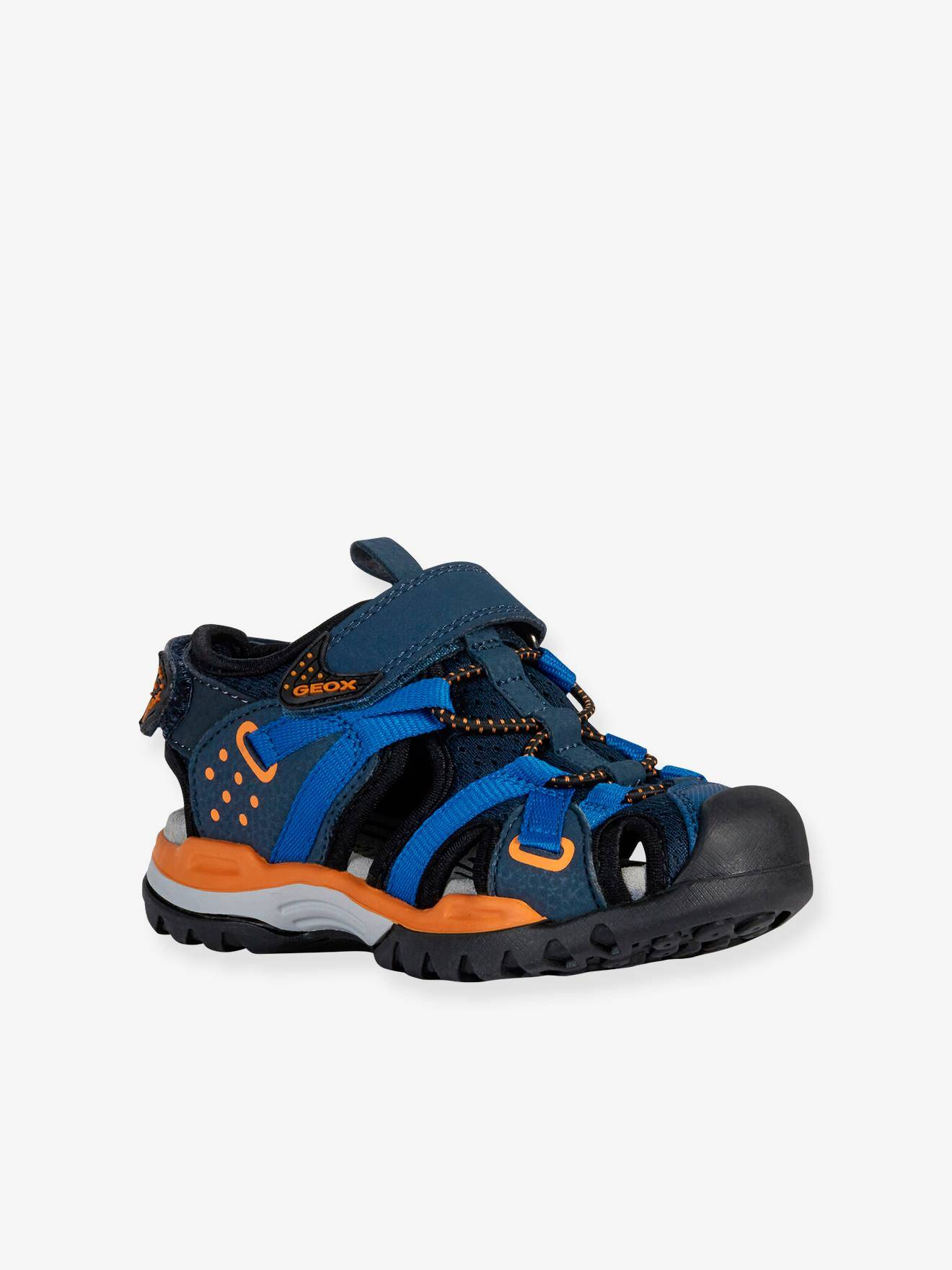 Geox Sandales garçon Borealis Boy B GEOX® bleu orange