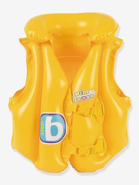 WDK Gilet de natation gonflable WDK Swin Safe jaune