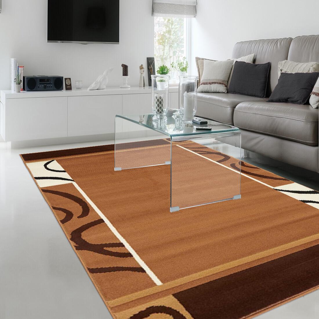 Unamourdetapis Tapis tapis de salon BC ESPACE marron Tapis Moderne marron 60 x 110 cm Alfombra sala de estar
