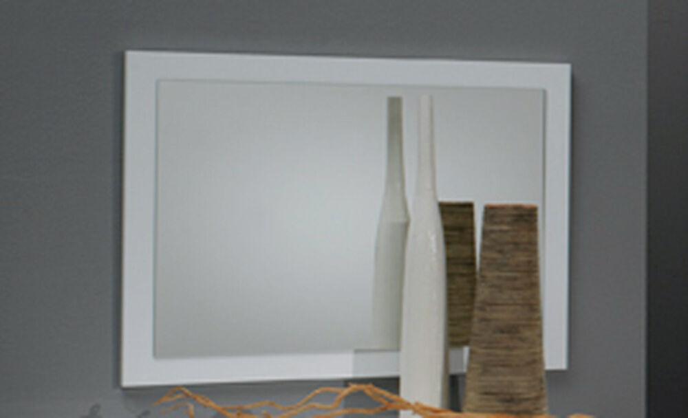 Basika Miroir Carol blanc laquée - Basika
