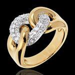 edenly  Edenly Bague Lien Infini or jaune 18 carats un amour en diamants... par LeGuide.com Publicité