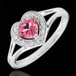 edenly  Edenly Bague Coeur Enchantement - topaze rose - or blanc 18 carats... par LeGuide.com Publicité