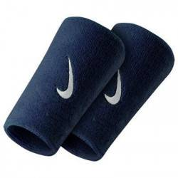 Nike Poignets éponge Nike Doublwide Navy